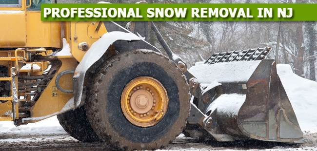 Commercial Snow Removal in NJ - image